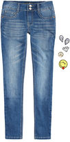 Vanilla Star Imperial Star Denim Skinny Jeans With DIY Patches - Girls 7-16