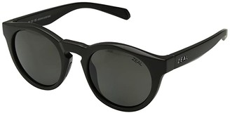 Zeal Optics Crowley (Matte Black/Polarized Dark Grey Lens) Athletic Performance Sport Sunglasses