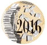 Fornasetti 2016 Calendar Plate #49
