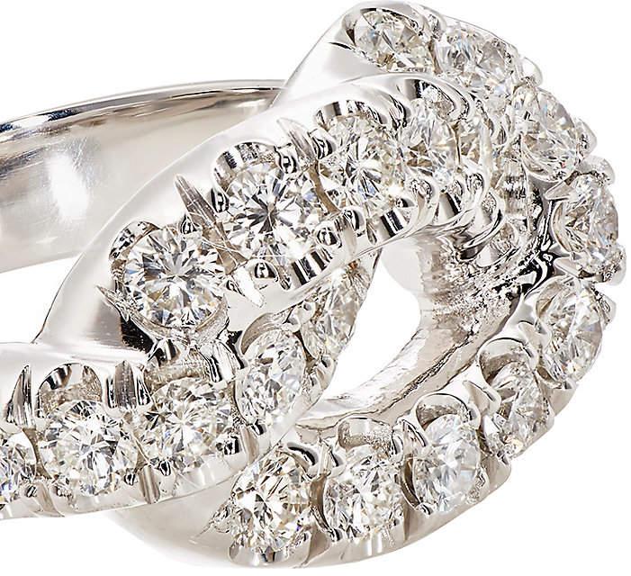 Finn Women's Pavé Jumbo Love Knot Ring