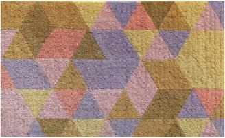 Doormat Designs Pixel Triangles Regular Doormat