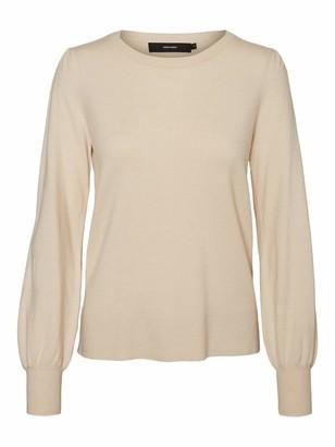 Vero Moda Women's VMKARISARA LS Ballon Blouse GA Boo Sweater