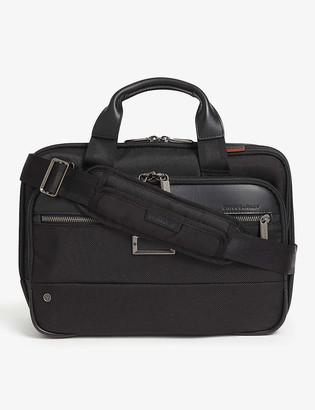 Briggs & Riley Small expandable ballistic nylon briefcase
