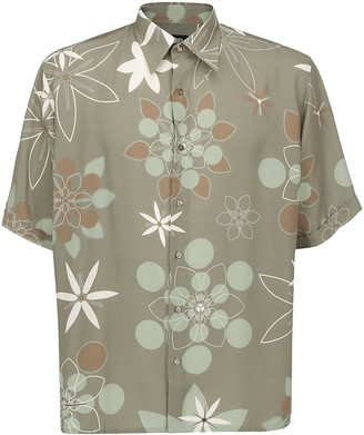 Fendi Kaleido Print Short-Sleeve Shirt