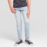 art class Boys' Rip and Repair Jeans - Art Class Light Wash