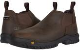 Caterpillar Outline Slip-On Steel Toe (Dark Brown) Men's Boots
