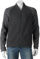 Marc Anthony Men's Slim-Fit Marled Raglan Knit Bomber Jacket