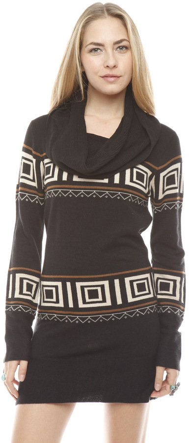 THML Neutral Printed Sweater