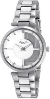 Kenneth Cole New York Women's Transparent Dial Bracelet Watch