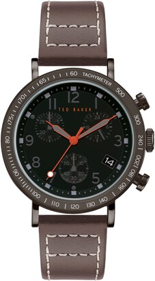 Ted Baker Men's Marteni Chrono Strap Watch, 42mm