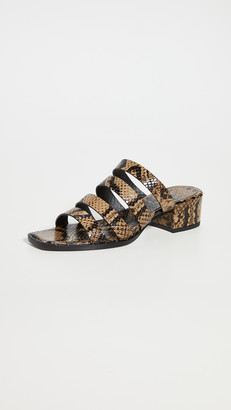 Freda Salvador Ingrid Square Toe Strappy Sandals