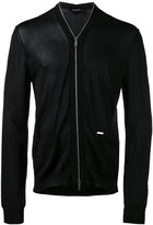 DSQUARED2 zip-down cardigan - men - Cotton/Polyester/Viscose - S