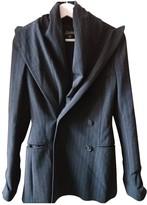 Jean Paul Gaultier Grey Wool Jackets