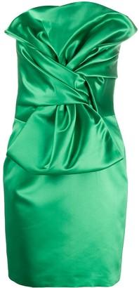 Giuseppe di Morabito Bow Mini Dress