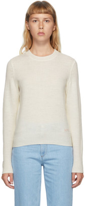 A.P.C. Off-White Wool Esme Sweater