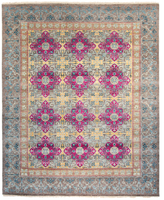 F.J. Kashanian Yves Hand-Knotted Wool Rug