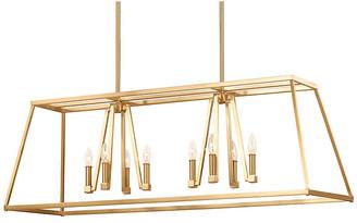 Feiss Conant 8-Light Chandelier - Satin Brass