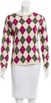 Burberry Pullover Argyle Sweater