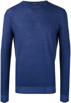 Ermenegildo Zegna crew neck sweater - men - Wool/Silk - 46