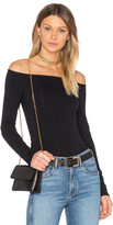 Theory Ennalyn off the Shoulder Top