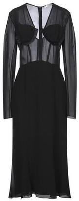 OLIVIER THEYSKENS 3/4 length dress