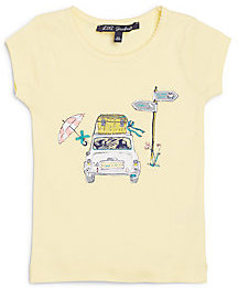 Lili Gaufrette Toddler's & Little Girl's Cotton Car Tee