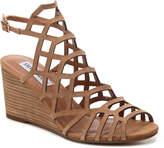 Steve Madden Women's Caileen Wedge Sandal -Cognac