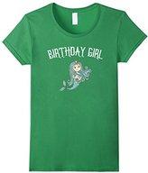 Men's Mermaid Birthday Girl TShirt Large