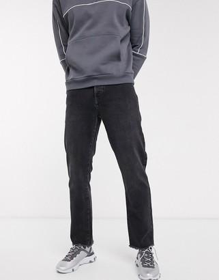 Topman dad fit jeans in grey