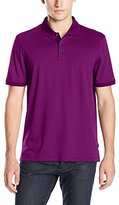 Calvin Klein Men's Liquid Cotton Stripe Polo Shirt