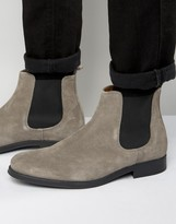 Selected Homme Oliver Suede Chelsea Boots