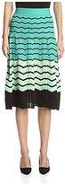 M Missoni Women's Flared Midi Skirt