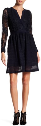 The Kooples Mixed Lace Dress