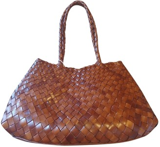 DRAGON DIFFUSION Brown Leather Handbags