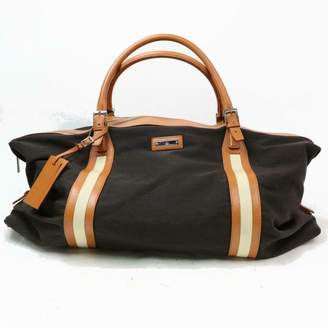 Gucci Boston Brown Cloth Travel bags
