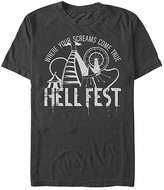 Fifth Sun Men's Tee Shirts BLACK - Hell Fest Carnival Rides 'Where Your Screams Come True' Black Tee - Men