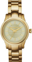 Karl Lagerfeld Watches Kl1220 Gold-toned Slim Chain Watch