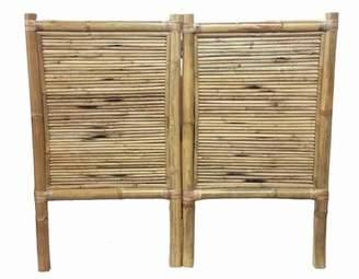 Coby Bamboo Panel Headboard Bay Isle Home Size: Full