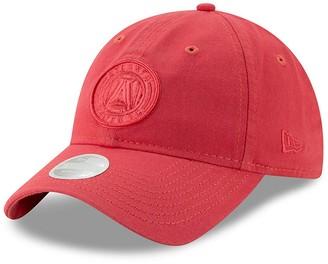 New Era Women's Coral Atlanta United FC Core Classic Tonal 9TWENTY Adjustable Hat