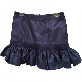 Luella Blue Silk Skirt for Women