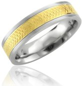 Hellmuth Stainless Steel Band Ring