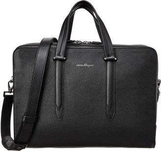 Salvatore Ferragamo Leather Briefcase