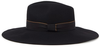 Christys London Christys' London Wilmslow Black Wool Felt Fedora