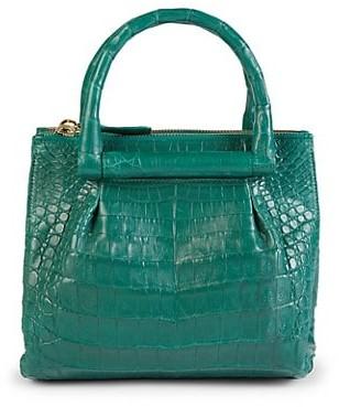 Nancy Gonzalez Crocodile Leather Tote