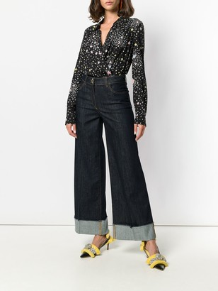 Boutique Moschino Star Print Bodysuit