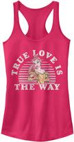 Fifth Sun Raspberry Belle 'True Love Is the Way' Racerback Tank - Juniors