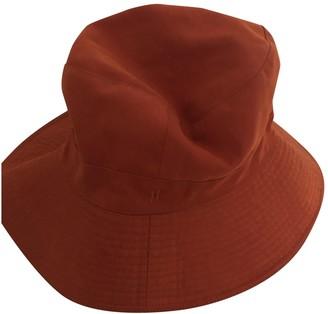 Hermes Orange Polyester Hats