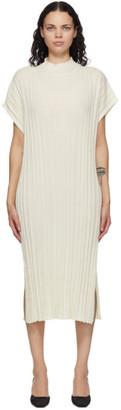 RUS Off-White Merino Higasa Dress