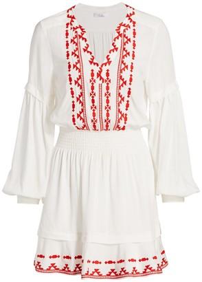 Parker Arlington Embroidered Dress