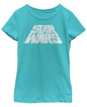 Fifth Sun Star Wars Big Girl's Slanted Scroll Logo Short Sleeve T-Shirt